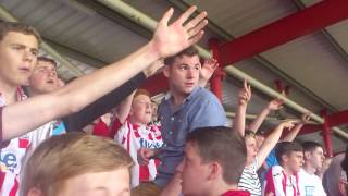 Exeter City FC Chant - Those Roman Walls