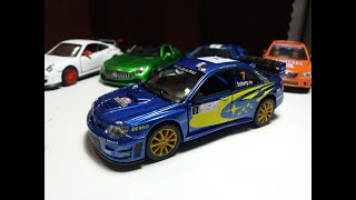 #Subaru Обзор Subaru Impreza WRX 2007 Идеальное качество модели.Открытие большой...