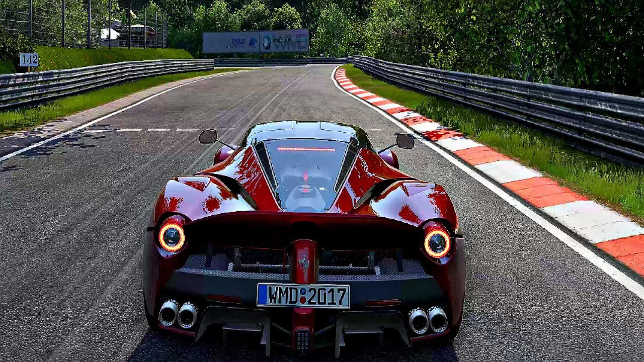 Project Cars 2  Gameplay Ferrari Laferrari @ Nurburgring