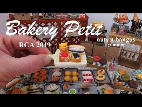Re-ment Miniatures Petit Kitchen DIY cake set no.1