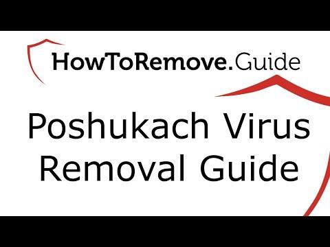 Poshukach Virus Removal