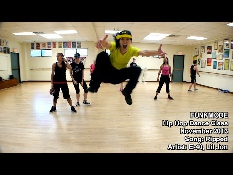 Ripped - E-40, Lil Jon - FUNKMODE Adult Hip Hop Dance Class - November 2013