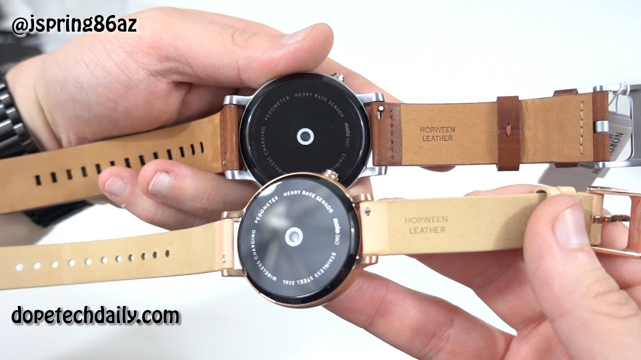 Listening to music on Moto 360 without a phone - YouTube