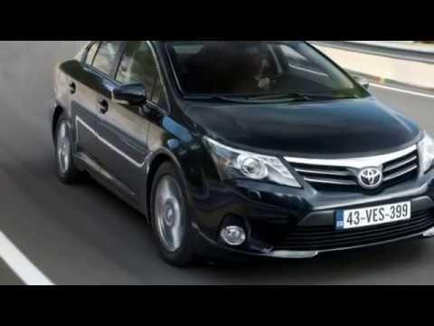 Toyota Avensis - технические характеристики