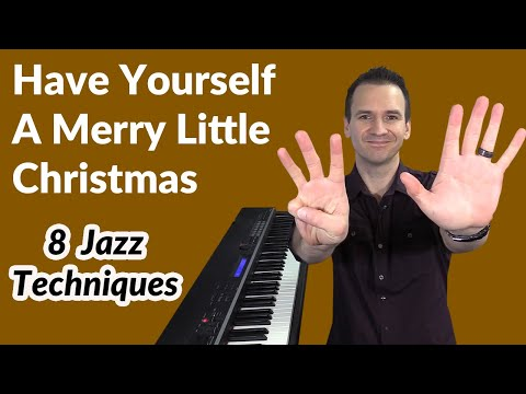 Have Yourself A Merry Little Christmas  - Cocktail Jazz Piano Lesson