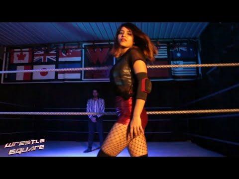 Mona (Indian Female Wrestler) / Sahil (Cricketer) vs Subject -7 / Rascal - Full Match #WAR05