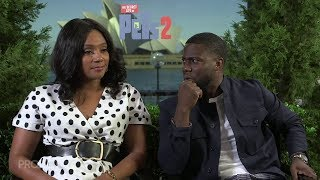 Tiffany Haddish and Kevin Hart argue over which wild animal represents them | The Project