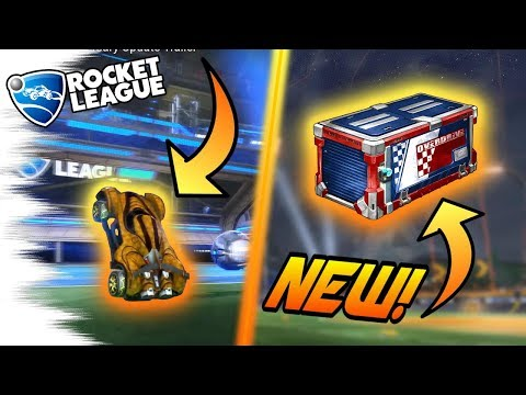 10 Rocket League OVERDRIVE CRATE SECRETS You MISSED! - Hidden Items, Painted Centio, Glitch