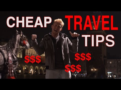 Cheap Travel Tips: Food, Transport and Lodgings on a Budget
