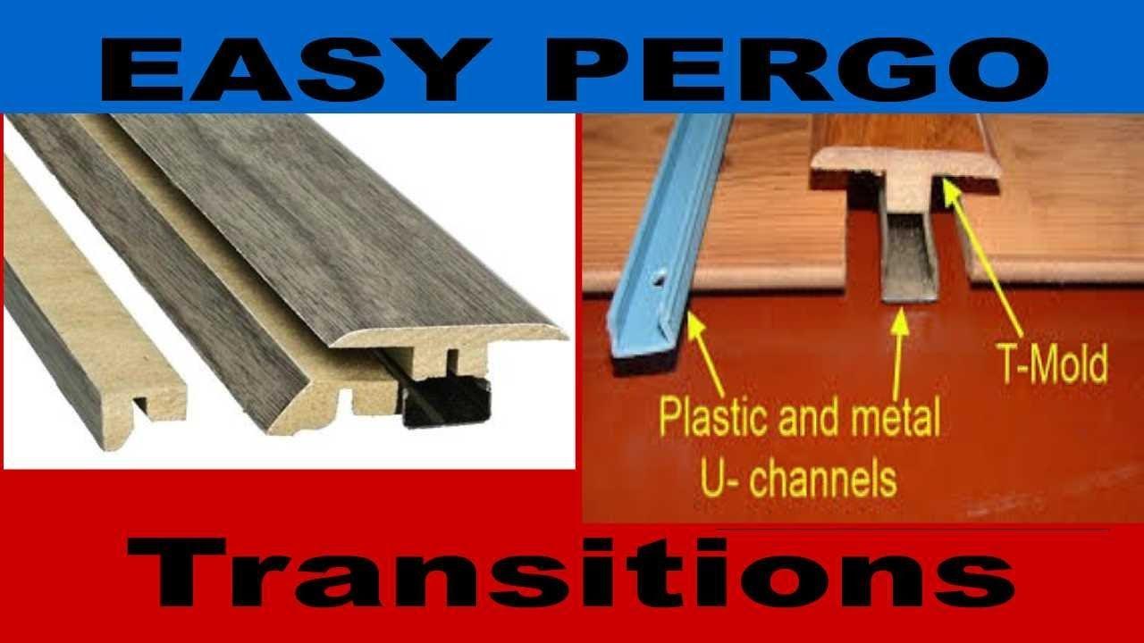 Pergo Floor Transitions Easy Under 30