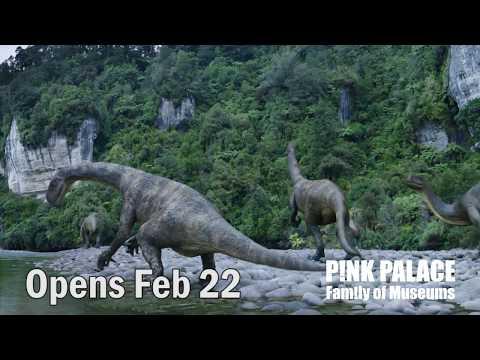 Dinosaurs Of Antarctica At The Pink Palace