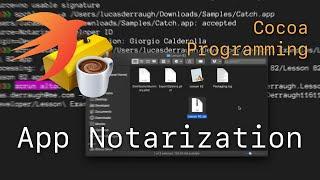 Cocoa Programming L82 - Aṗp Notarization