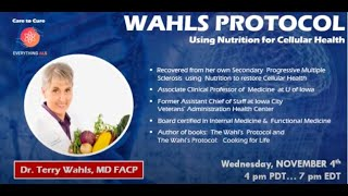 Wahls Protocol, Using Nutrition for Cellular Health