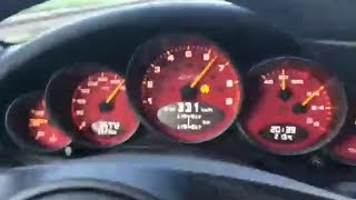 Porsche 911 GT3 RS Brutal Autobahn Acceleration 350 kmh TOP SPEED
