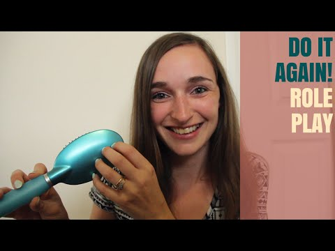Do It Again! Role Play - Hair Brushing & Scalp Massage