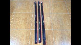 Tri ân anh em bộ môn câu đơn câu đài 3 cây daiwa catana 5,4m giá ko lãi