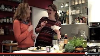 Koken met Miss Natural Superfood Broccoli Salade met Sinaasappel en Pesto