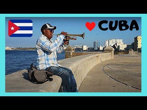 CUBA: Trumpet Player in HAVANA'S beautiful WATERFRONT (MALECON)