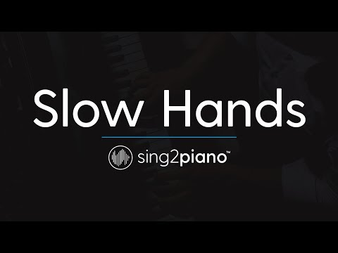 Slow Hands [Piano Karaoke Instrumental] Niall Horan