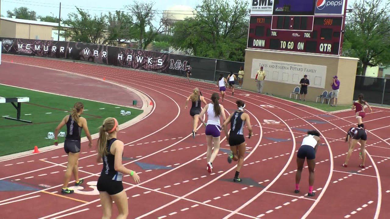 2014 Guyer High School Girls Track 4x400 Region 1 Finals ...