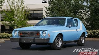 an AMC Gremlin X with Levi's Jeans Interior Option