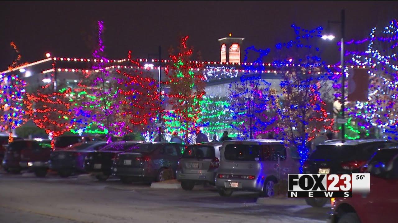 downtown tulsa lights up for the christmas season - Christmas Lights Tulsa