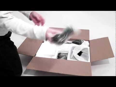 LG Flatron IPS225V Unboxing (German)