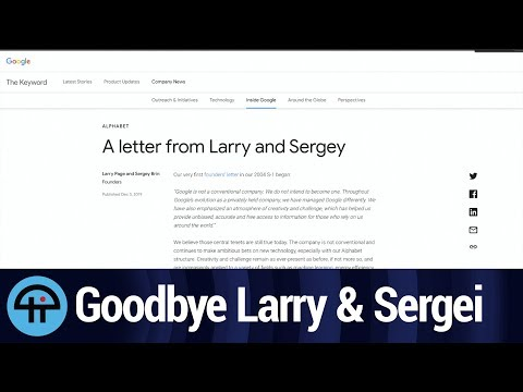 Farewell, Larry and Sergei