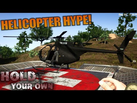 HELICOPTER HYPE! | Hold Your Own | Let's Play Gameplay | S01E15