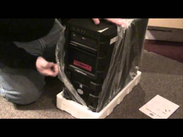 Cyber Power PC Gamer Dragon 8000 Unboxing