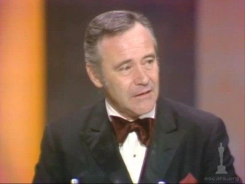 Jack Lemmon Wins Best Actor: 1974 Oscars