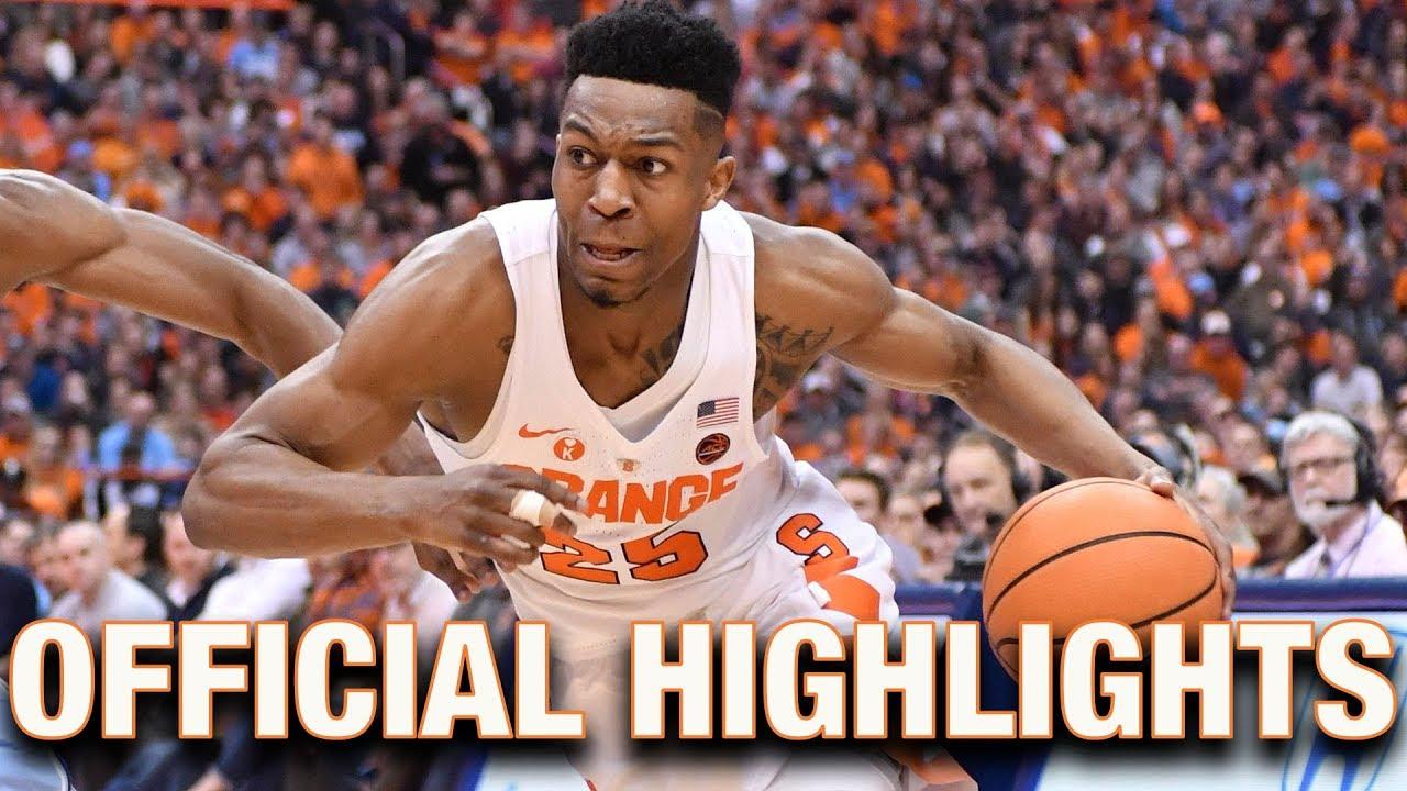 Tyus Battle Official Highlights | Syracuse - YouTube