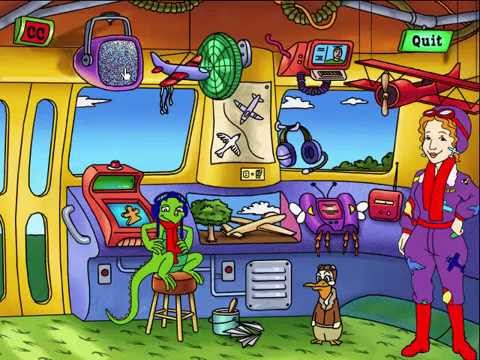 The Magic School Bus Discovers Flight (PC Game)