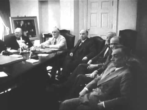 Pacific War Council meeting at the White House, June 29, 1942
