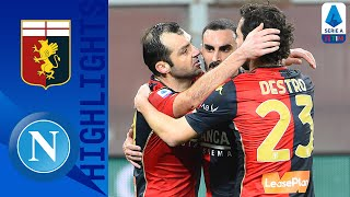 Genoa 2-1 Napoli | Pandev Scores Brace In Big Win For Genoa | Serie A TIM