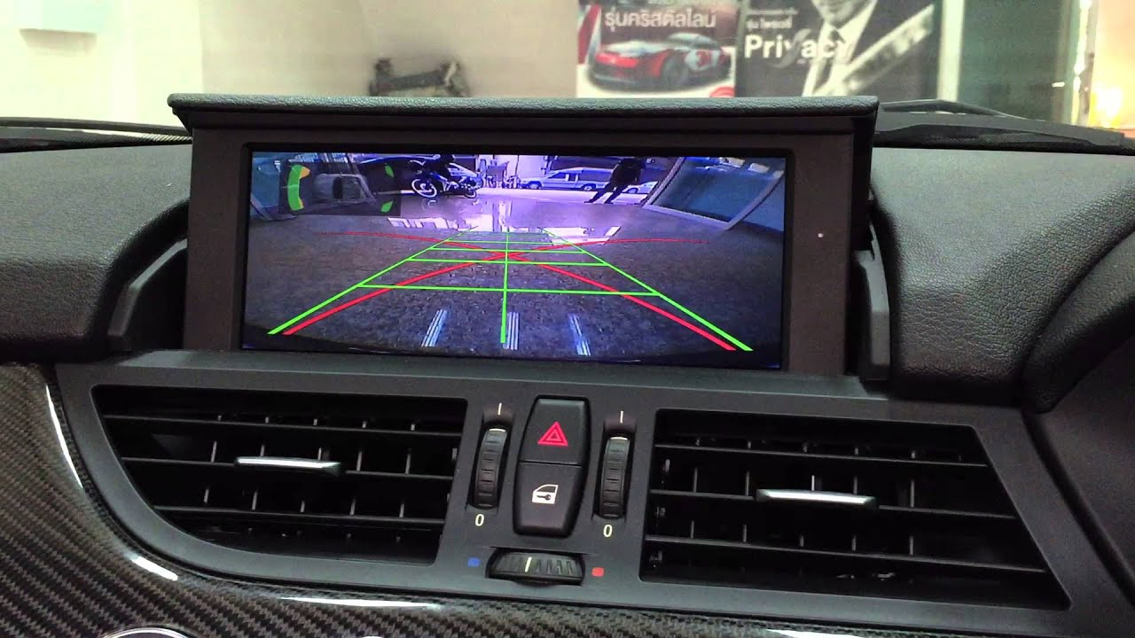 Aftermarket Backup Camera >> BMW Z4 E89 REAR VIEW CAMERA - YouTube