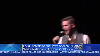 Protesters Shout Down White Nationalist Richard Spencer's Speech In Florida