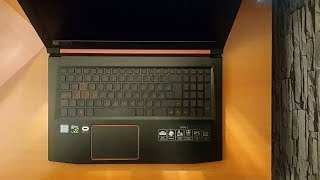 Acer Nitro 5 AN515-51-50SR Gaming Notebook Kutu Açılımı
