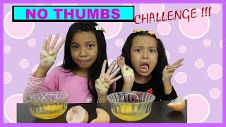 NO THUMBS CHALLENGE INDONESIA | KEIRA CHARMA