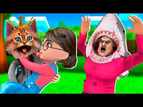 ПРАЗДНИК У МИСС ТИ Злая Учительница Scary Teacher 3D Весёлый Кот