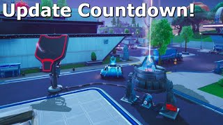 Fortnite Update Countdown + Mega Mall Changing & Mechs Getting Buffed!