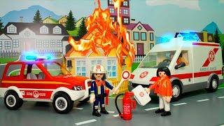 Мультики Мультфильмы для детей Скорая помощь Пожарная машина у видео для детей Машинки все серии