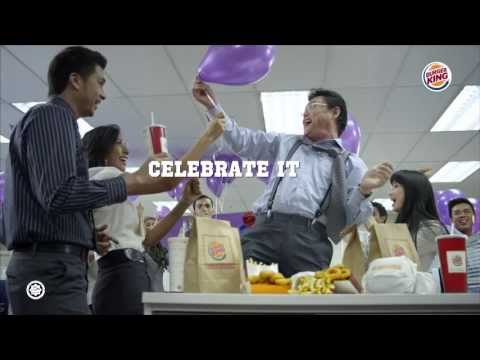 Share it. Celebrate it. Have it your way ™
