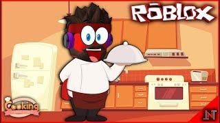 ROBLOX Indonésia #170 Cooking Simulator | Mais cozinhar para quebrar o jejum