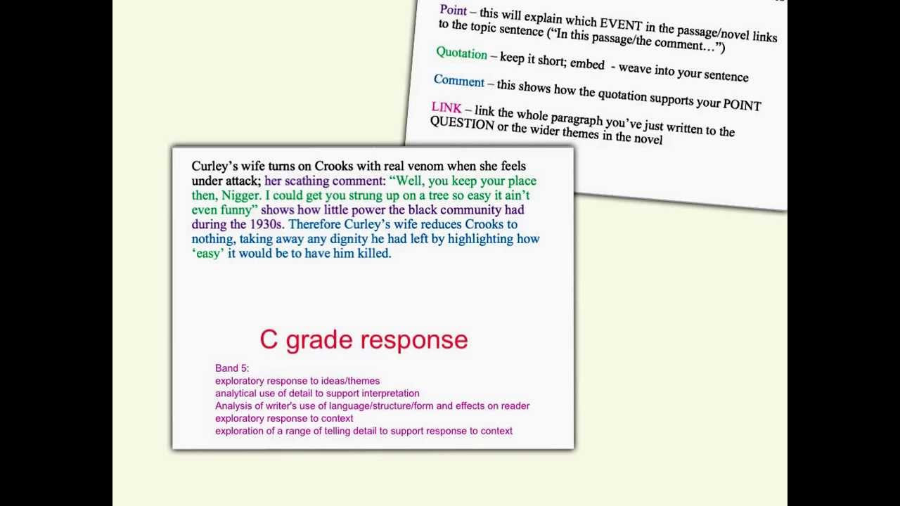Interpretation of poetry essay