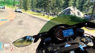 The Crew Wild Run PC Kawazaki Ninja H2 | i7 4790K - SLI GTX970 | Gameplay FR HD