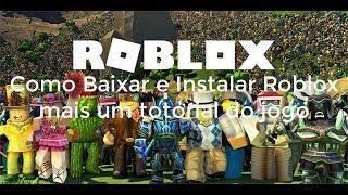 Como Baixar e Instalar Roblox no PC e tutorial do jogo