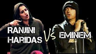 Ranjini Haridas Vs Eminem | Eminem നെ ഞെട്ടിച്ച Rap Song | Big Boss