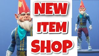 Fortnite Christmas Update Shop New Grimbles Skin is out !