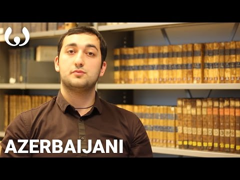 WIKITONGUES: Galib Speaking Azerbaijani